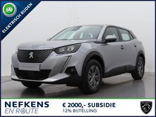 Peugeot 2008 e-2008 SUV EV 50kWh Blue Lease Active   NIEUW   3-FASE LADER   ¤2.000 Subsidie mogelijk  
