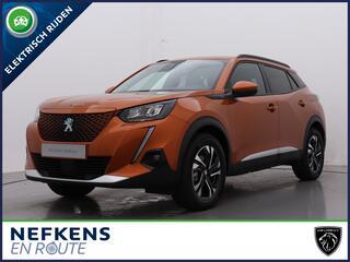 Peugeot 2008 SUV EV Allure Pack 50kWh 136pk Automaat | NIEUW | Navigatie | Camera | Verwarmbare Stoelen | 3-Fase Laden |