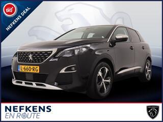 Peugeot 3008 SUV Crossway 1.6 180pk Automaat | Navigatie | Handsfree Achterklep | Grip Control | Lichtmetalen Velgen | Verwarmbare Stoelen |