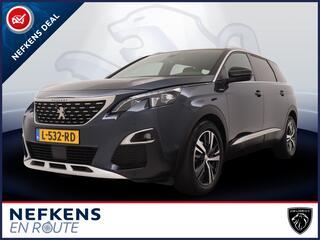 Peugeot 5008 SUV GT-Line 1.6 165pk Automaat | Navigatie | Glazen Schuif-/Kanteldak | Stoelverwarming | Handsfree Achterklep | Camera | 5-Zitplaatsen | Trekhaak |
