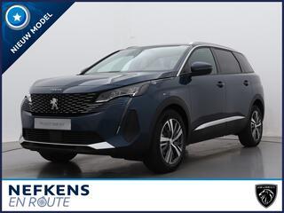 Peugeot 5008 SUV Blue Lease Allure 130pk Automaat   NIEUW   Navigatie   Handsfree Achterklep   Verwarmbare Stoelen  