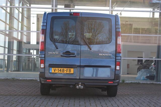 Renault TRAFIC 1.6 dCi T29 145 pk L2H1 DC 6-persoons | Dubbele schuifdeur | Navi | Airco